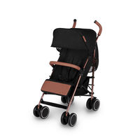 Ickle Bubba Discovery Max Stroller - Rose Gold - Black