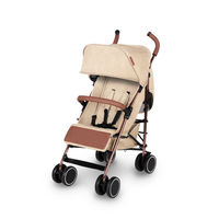 Ickle Bubba Discovery Max Stroller - Rose Gold - Sand