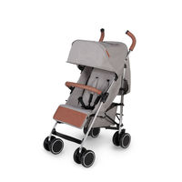 Ickle Bubba Discovery Max Stroller - Silver - Grey