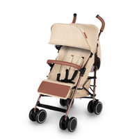 Ickle Bubba Discovery Prime Stroller - Rose Gold - Sand