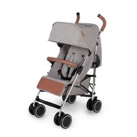 Ickle Bubba Discovery Prime Stroller - Silver - Grey