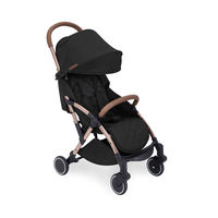 Ickle Bubba Globe Max Ultra Lightweight Travel Stroller - Choose Your Colour - Rose Gold - Black