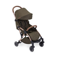 Ickle Bubba Globe Max Ultra Lightweight Travel Stroller - Choose Your Colour - Rose Gold - Khaki
