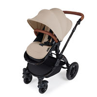 Ickle Bubba Stomp v3 2-in1 Pushchair and Carrycot - Black - Sand