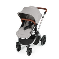 Ickle Bubba Stomp v3 2-in1 Pushchair and Carrycot - Silver - Silver
