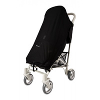 Pack-It Sun & Sleep Shade Cover for Pushchairs and Strollers Charcoal