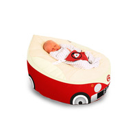 Gaga Cuddlesoft Iconic Campervan Baby Bean Bags - Choose your Colour - Red