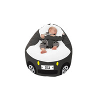 Iconic Campervan Gaga™+ Baby to Junior Beanbag - Charcoal